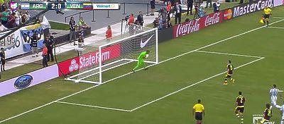Penalti a lo Panenka de Seijas | Foto: Youtube