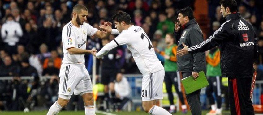 Desde el banquillo, Morata se está convirtiendo en un 'problema' para Zidane. Foto: @le10sport.