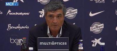 Juande Ramos durante la rueda de prensa de su presentación | Foto: MCFTV