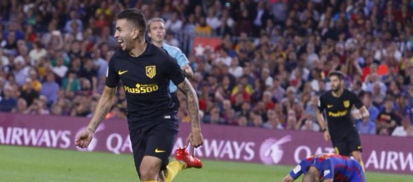 Correa logró rescatar un punto para el Atleti en el Camp Nou. Foto: Twitter.