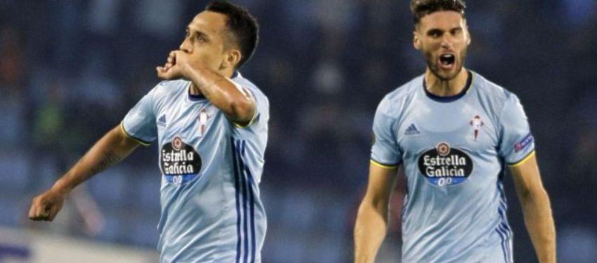 Orellana celebra el definitivo 2-2 ante el Ajax. Foto: @cooperativa.