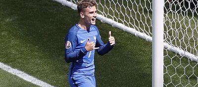 El curioso baile de Antoine Griezmann se ha hecho viral en la red durante esta Eurocopa. Foto: Instagram.