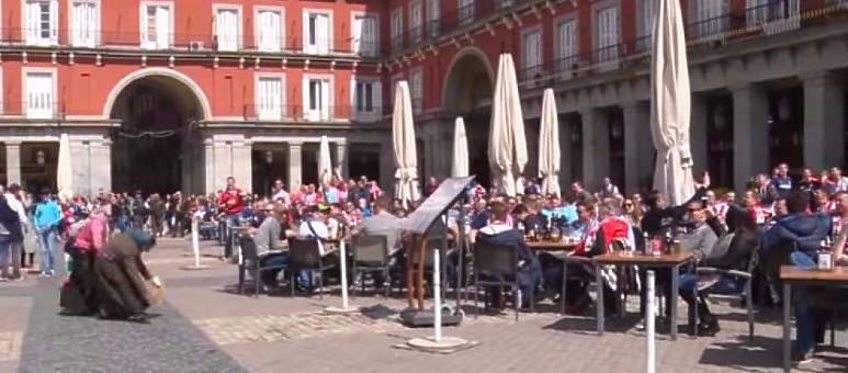 Altercados Plaza Mayor - Foto: Youtube