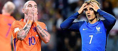 Los protagonistas de la final de la Eurocopa no tuvieron su mejor estreno de cara al Mundial. Foto: @futboltotal.
