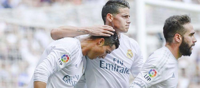 El Madrid se desquita ante el Eibar
