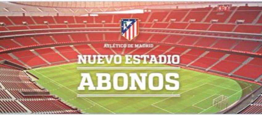 Campaña de abonos del Club Atlético de Madrid para el nuevo estadio | Foto: @Atleti