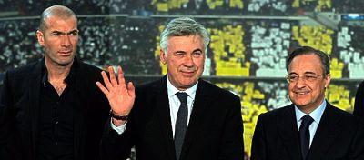 El dardo de Ancelotti a Florentino Pérez