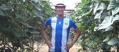 Alexander Szymanowski es el protagonista de la curiosa campaña de abonados del Leganés. Foto: Youtube.