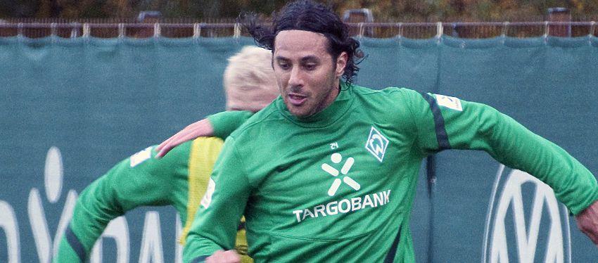 Pizarro en un entrenamiento. Foto: wikipedia