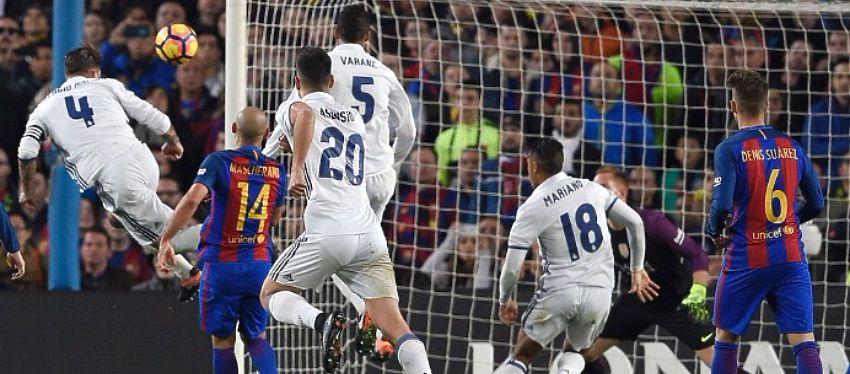 Ramos volvió a ejercer de salvador para el Real Madrid. Foto: Marca TV.