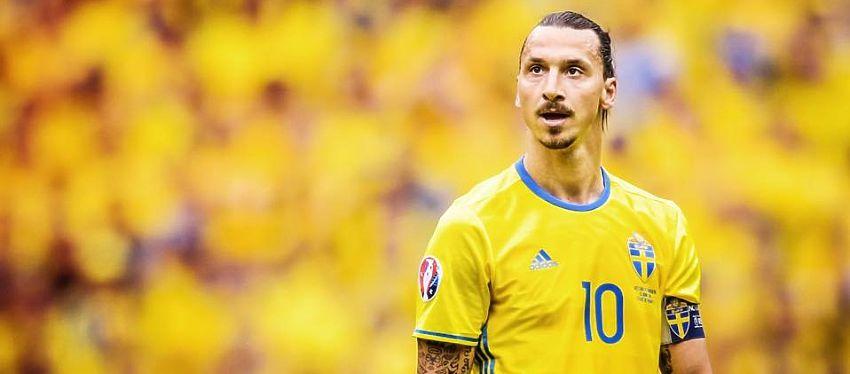 Ibrahimovic, con 62 goles en 116 partidos, se marcha de la selección sueca como máximo goleador de la historia. Foto: Instagram.
