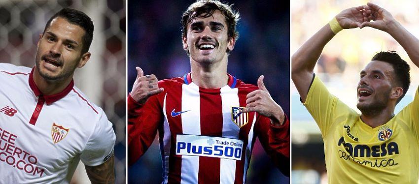 Sevilla, Atlético y Villarreal protagonizarán los otros tres enfrentamientos de este sábado.