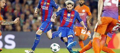 Messi fue el gran protagonista ante el City hace dos semanas con un hat-trick. Foto: @somosculesmedia.