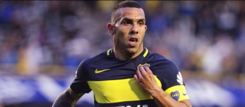 Carlos Tévez jugó ayer su último partido con la camiseta de Boca Juniors. Foto: Twitter.