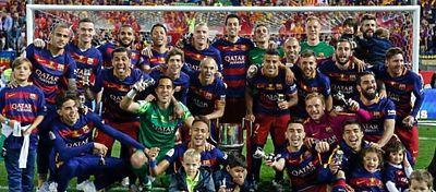 El Barça sufrió pero acabó reinando en la que es su competición. Foto: Instagram.
