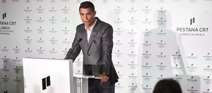 Cristiano Ronaldo inauguró el segundo hotel de su cadena 'Pestana CR7'. Foto: @golcaracol.