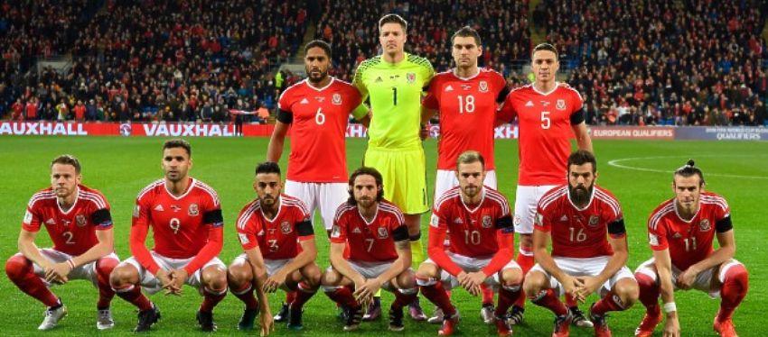 La selección de Gareth Bale volvió a ser protagonista por su particular posado. Foto: Twitter.