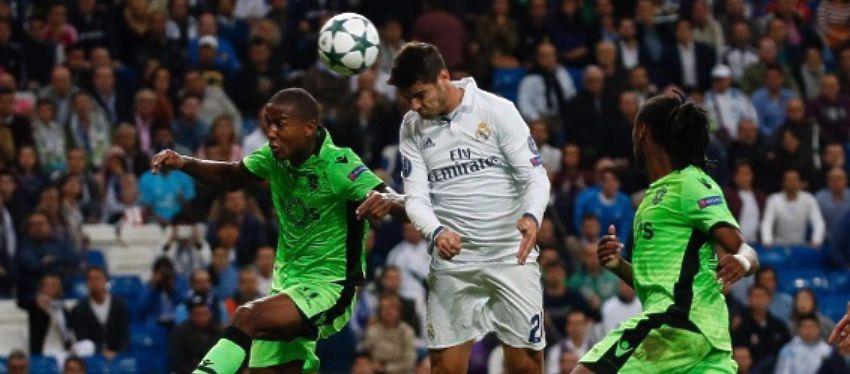 Morata fue decisivo en el partido de ayer frente al Sporting de Portugal. Foto: Twitter.