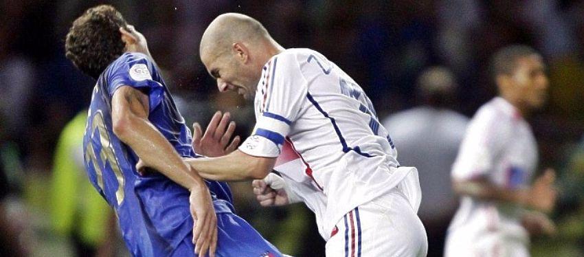 Zidane enturbió su retirada con un lamentable cabezazo a Materazzi. Foto: Twitter.