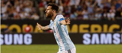 Lionell Messi con la seleccion Argentina | Foto: Archivo