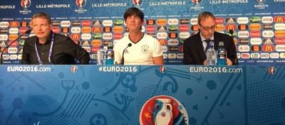 Rueda de prensa de Joachim Löw |Foto: DFB_Team