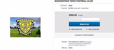 Un club inglés sale a la venta por 1 euro