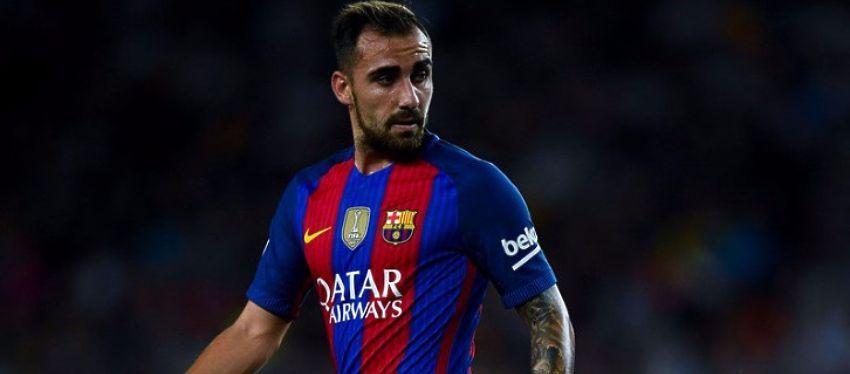 Paco Alcácer sigue sin encontrar su sitio en el Barça. Foto: Twitter.