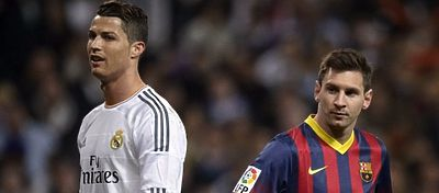 Cristiano Ronaldo y Messi volverán a acaparar todos los focos en el Clásico. Foto: @okezonenews.