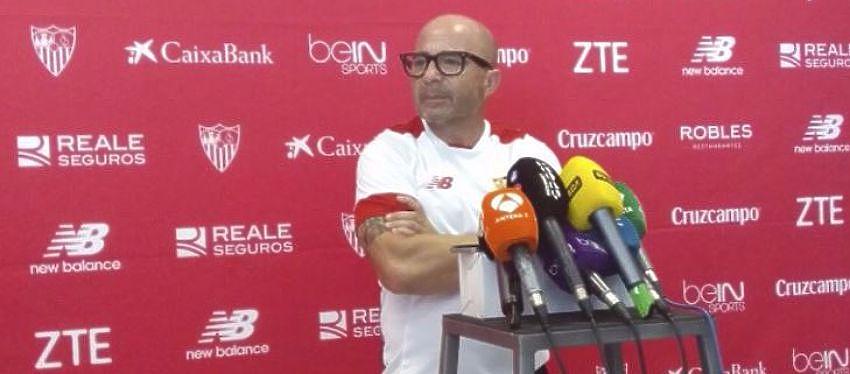 Sampaoli   Foto: @SevillaFC