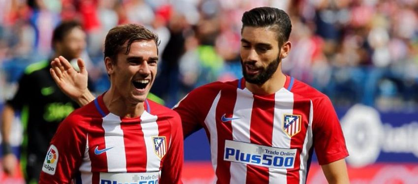 Griezmann volvió a liderar al Atlético en la goleada frente al Sporting de Gijón. Foto: @b24pt.