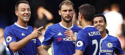 El Chelsea cuenta sus partidos por victorias en lo que llevamos de Premier. Foto: Twitter.