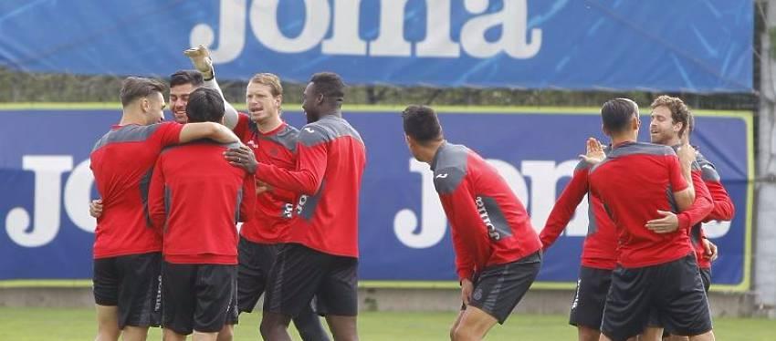 Foto: RCD Espanyol - entrenamiento hoy