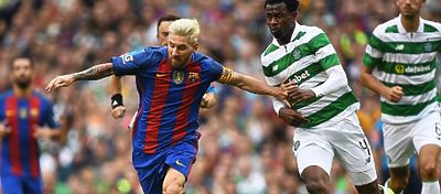 El Barça ya se enfrentó al Celtic durante la pretemporada. Foto: Twitter.
