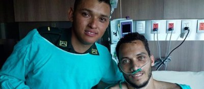 La emotiva conversación entre Helio Neto y el policía que le salvó la vida