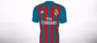 This is how Real Madrid would look like with Barcelona's colours.