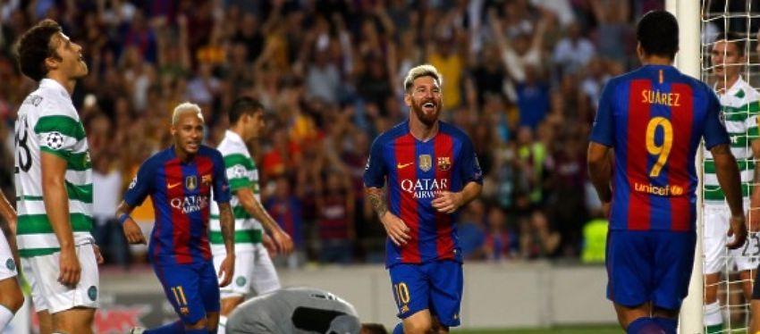 El Barcelona espera un resultado similar al de la ida para acercarse más a los octavos de final. Foto: Twitter.