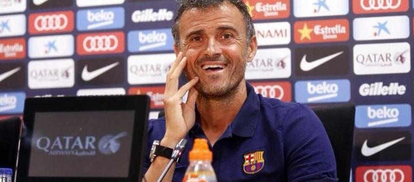 Rueda de prensa de Luis Enrique   Foto: @FCBarcelona_es