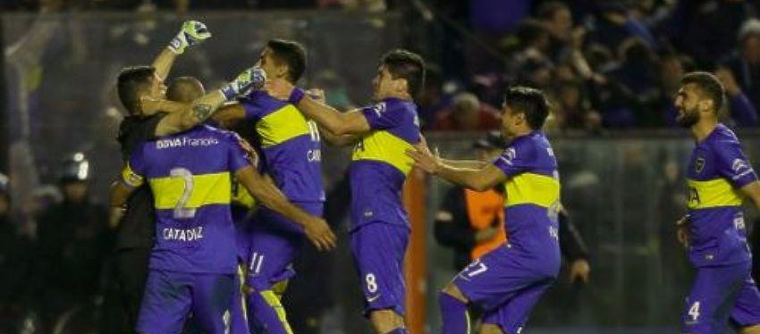 Celebración jugadores Boca Juniors - Foto: Twitter