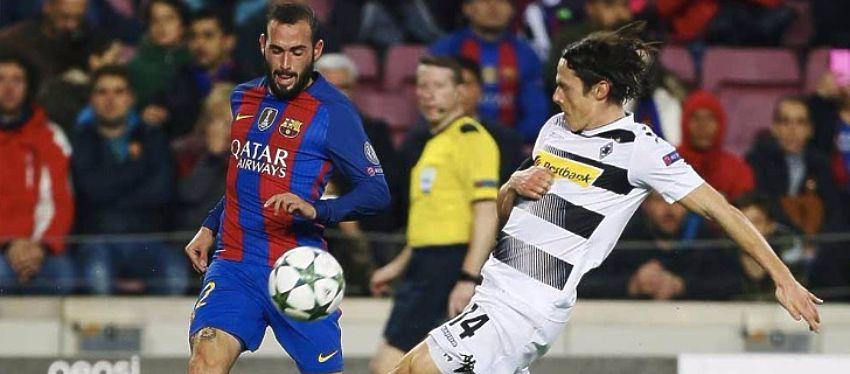 Vidal fue uno de los jugadores más activos ante el Gladbach. Foto: Sport.