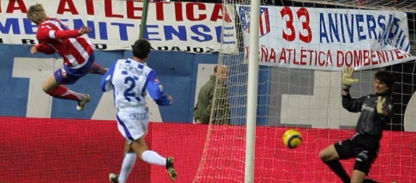 Fernando Torres anotó ante el Alavés uno de los últimos goles en un duelo entre ambos equipos. Foto: Twitter.