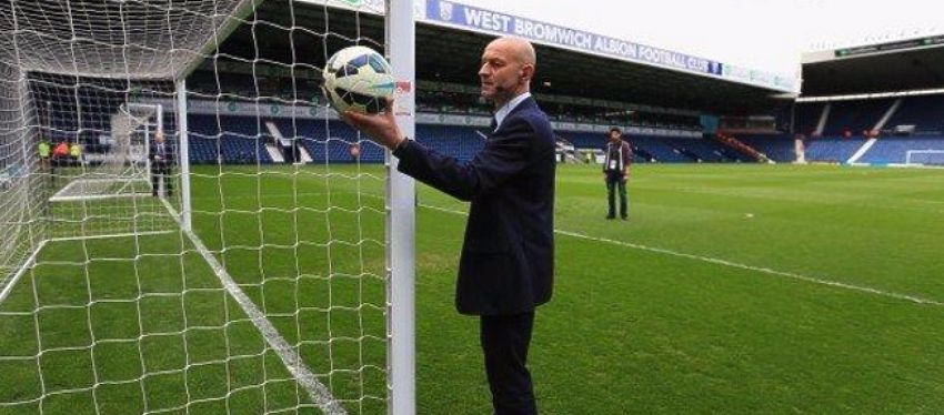Catorce cámaras sobre la línea de gol 'vigilarán' si el balón entró o no. Foto: UEFA.