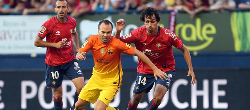 El Barça tendrá que andar con pies de plomo en su visita a El Sadar. Foto: FC Barcelona.