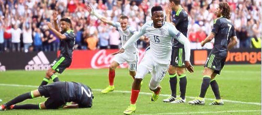 Gol marcado por Daniel Sturridge | Foto: @ England