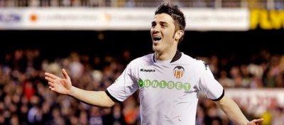 Villa espera que el Valencia acabe remontando el vuelo. Foto: Twitter.