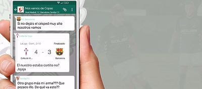 Extracto de la conversación ficticia del Toledo con varios equipos de LaLiga. Foto: Youtube.
