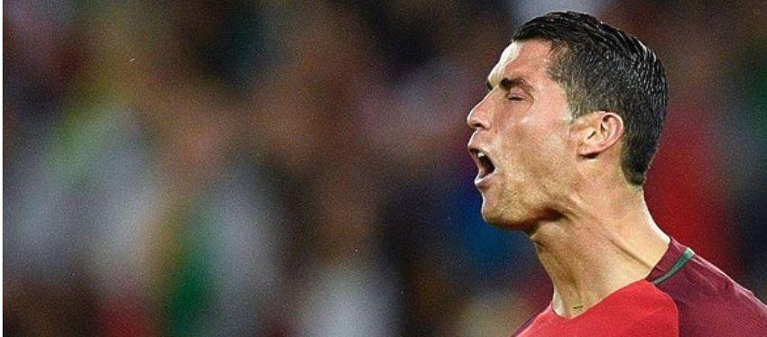 Cristiano Ronaldo no tuvo su mejor noche y falló un penalti ante Austria. Foto: @uefaeuro.