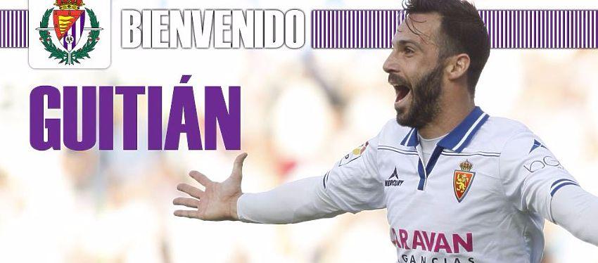 Mensaje de bienvenida del Real Valladolid en Twitter