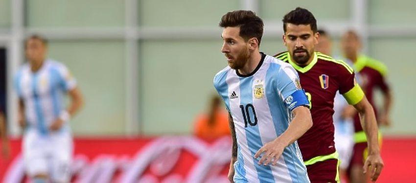 Leo Messi volvió a ser fundamental para Argentina en la victoria ante Venezuela. Foto: @copaamericacentenario.