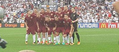 Selección Rusa | Foto: @TeamRussia