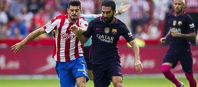 Cinco datosdel Sporting-Barça